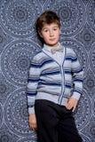 Красивый элегантный мальчик Стоковые Изображения RF
