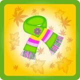 Красивый яркий шарф детей Стоковое Изображение RF