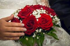 Красивый bridal конец-вверх букета Стоковое Изображение RF