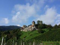 Красивый Burg Deutschlandsberg, Австрия Стоковое Изображение RF