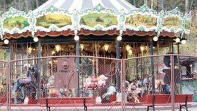Красивый Carousel Весел-Идти-круглый Стоковая Фотография