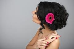 Красивый coiffure Стоковая Фотография