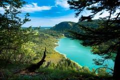Красивый lac de Bonlieu Стоковые Фото