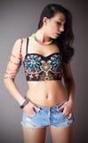 Красивый latina Стоковая Фотография