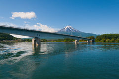 Красивый Mt Фудзи стоковое изображение