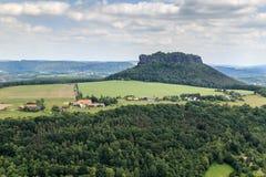 Красивый Saxon Швейцария леса Стоковая Фотография RF