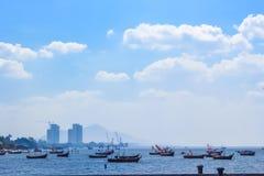 Красивый seascape в дневном свете Стоковые Фотографии RF
