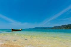 Красивый seascape на Koh Suwan Стоковые Фото