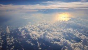Красивый seascape сверху Стоковые Изображения