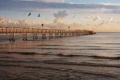 Красивый seascape Стоковые Изображения