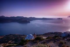 Красивый Seascape Milos, Греция Стоковые Изображения RF