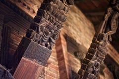 Красивый woodcarving Стоковая Фотография