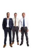 3 красивых Афро-американских бизнесмена Стоковые Фотографии RF