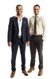 2 красивых Афро-американских бизнесмена Стоковые Фото
