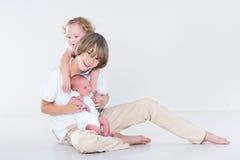 3 красивых дет Стоковая Фотография