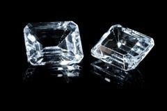2 красивых диаманта Стоковое фото RF
