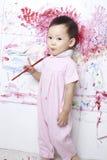 красить детей Стоковые Изображения RF