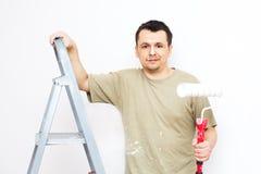 Красить квартиру Стоковые Фото