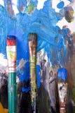 красить щеток Стоковые Изображения
