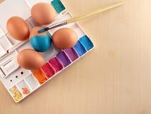 Красить яичек Стоковые Фото