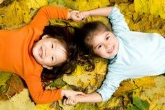 красить детей Стоковое Изображение