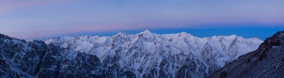 красит восход солнца Стоковая Фотография