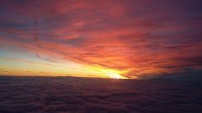 красит восход солнца Стоковые Фото