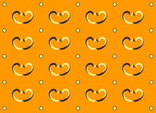 красит желтый цвет картины золота безшовный Стоковое Изображение