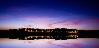 красит заход солнца Стоковые Фото