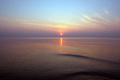 красит заход солнца Стоковые Изображения