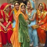 красит Индию Стоковое Изображение