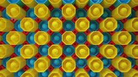 Красит кнопки обоев Стоковое фото RF