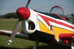 Красит малый самолет Стоковое Изображение