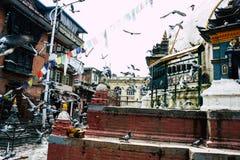 красит Непал стоковые изображения