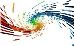 красит пиксел различным Стоковое Изображение RF