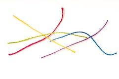красит различные резьбы Стоковые Фотографии RF