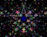 красит различные звезды Стоковое Изображение