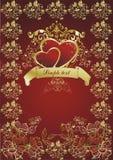 красит сердца Стоковые Изображения RF