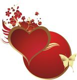 красит сердце Стоковые Фотографии RF