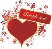 красит сердце Стоковые Изображения RF