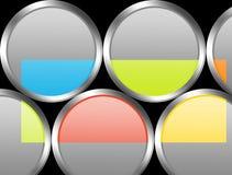 красит серый цвет Стоковые Изображения RF