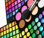 красит eyeshadows косметик различные профессиональным стоковое изображение