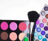 красит eyeshadows косметик различные профессиональным стоковое фото rf