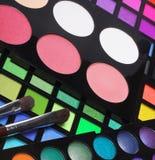 красит eyeshadows косметик различные профессиональным стоковые фотографии rf