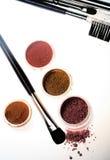 красит eyeshadows косметик различные профессиональным стоковое изображение rf