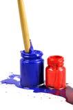 краска бутылок Стоковая Фотография RF