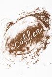 Краска земного кофе Стоковые Изображения RF