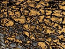 Краска золота серая тонизировала деревянную поверхностную текстуру К стоковая фотография