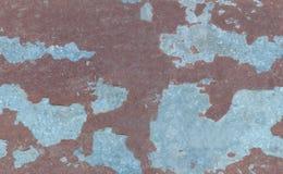 Краска и ржавчина шелушения Стоковое Фото