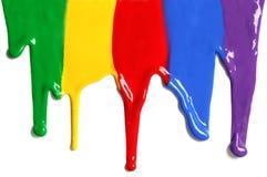 краска капания Стоковое фото RF